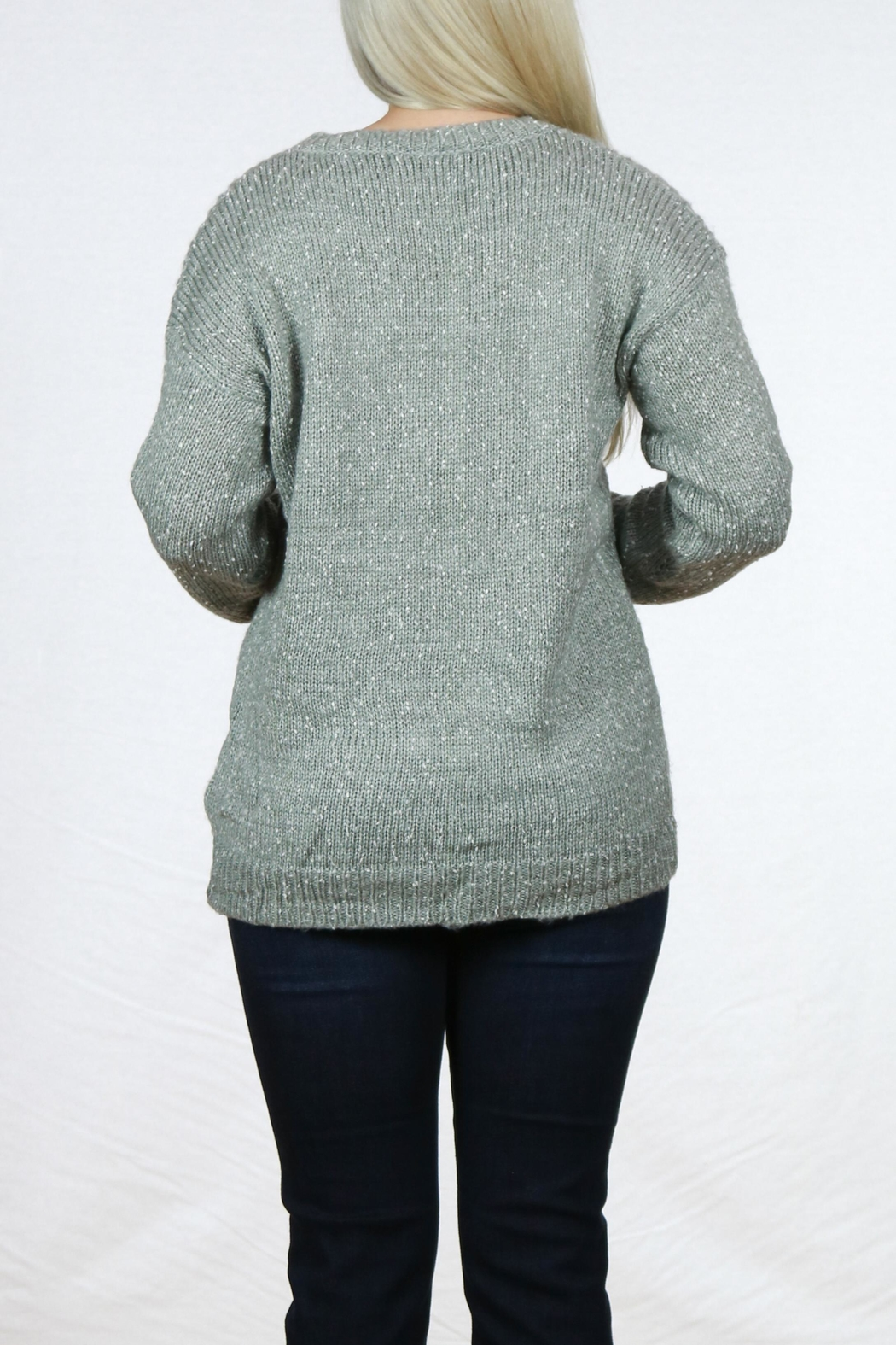 Doe & Rae Long Sleeve Pullover - Side Cropped Image