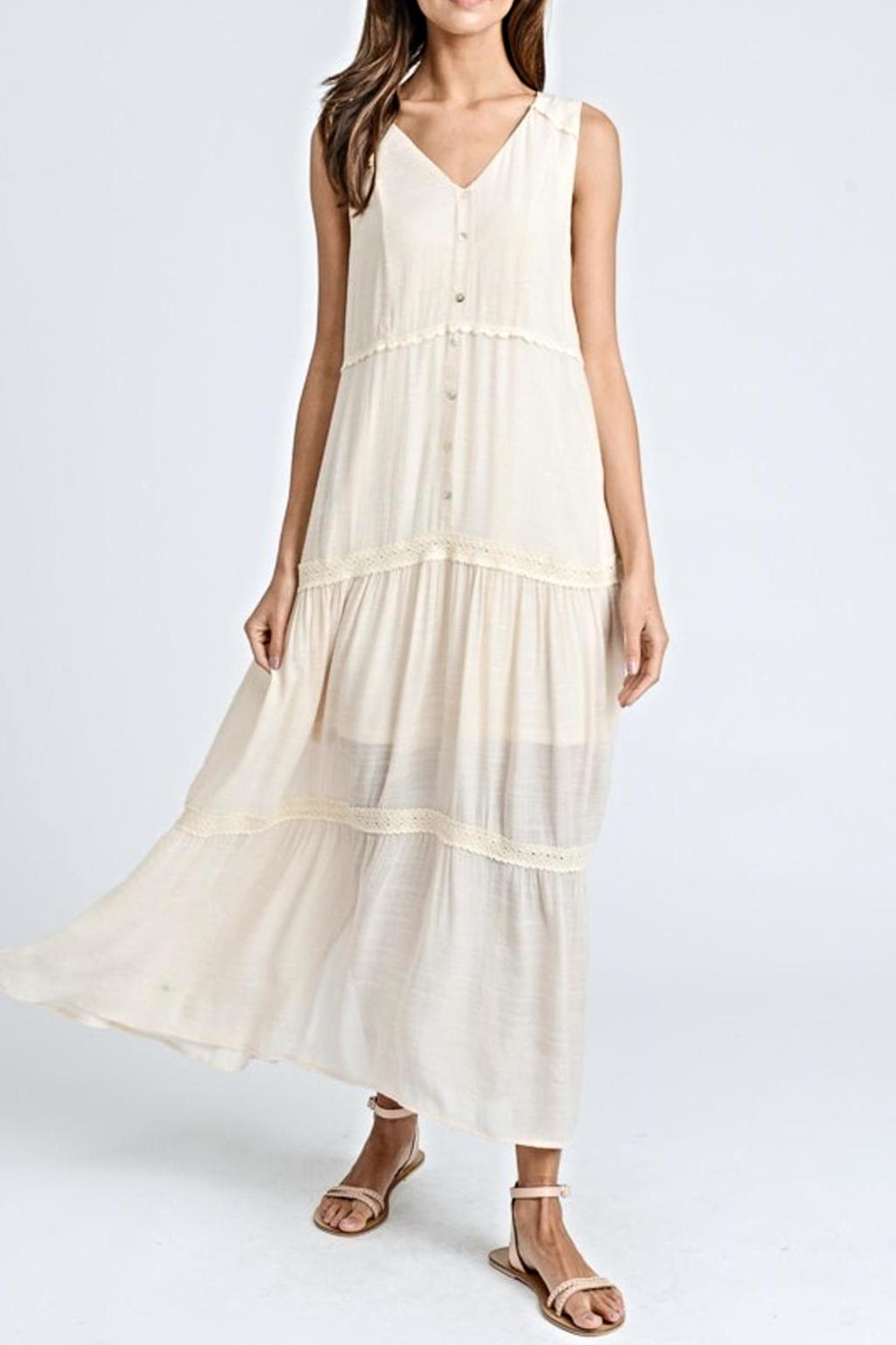 Doe & Rae Maxi Button-Down Dress - Main Image