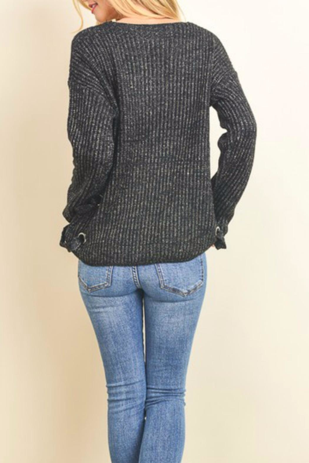 Doe & Rae Midnight Madness Sweater - Front Full Image