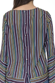 Doe & Rae Multicolor Striped Shirt - Side cropped