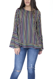 Doe & Rae Multicolor Striped Shirt - Front cropped