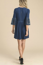 Doe & Rae Navy Lace Dress - Other