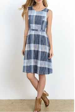 Doe & Rae Open Back Midi Dress - Product List Image