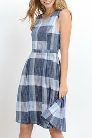 Doe & Rae Plaid Fit and Flare - Product Mini Image