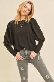 Doe & Rae Puffy Sleeve Top - Front cropped