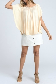 Doe & Rae Butterfly Sleeve Top - Product Mini Image