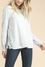 Doe & Rae Side Embroidery Top - Front full body