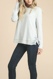 Doe & Rae Side Embroidery Top - Front cropped