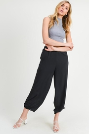 Doe & Rae Side Tie Pants - Product Mini Image
