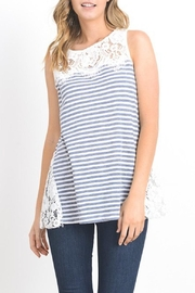 Doe & Rae Stripe With Lace - Product Mini Image