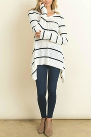 Doe & Rae Striped Sweater - Product Mini Image