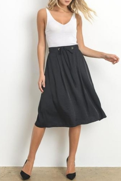 Doe & Rae Textured Midi Skirt - Product List Image