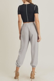 Doe & Rae The Mary-Kate Joggers - Side cropped