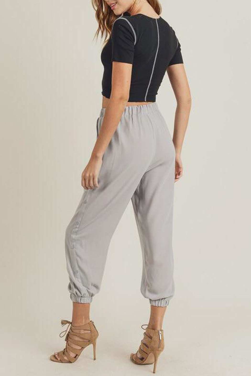 Doe & Rae The Mary-Kate Joggers - Front Full Image