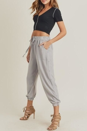 Doe & Rae The Mary-Kate Joggers - Front cropped