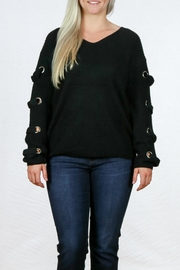 Doe & Rae V Neck Sweater - Product Mini Image