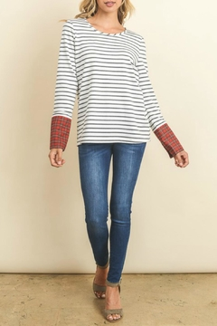 Doe & Rae Wide Cuff Top - Product List Image