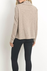Doe & Rae Wrap Front Top - Back cropped