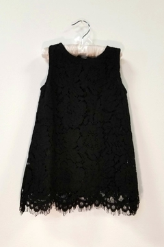 Doe a Dear Black Lace Dress - Alternate List Image