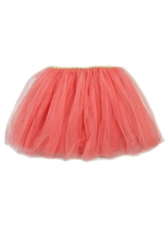 Doe a Dear Girls Tulle-Tutu-Bubblegum-Pink Skirt - Product List Image