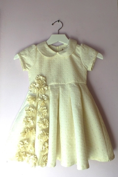 Doe a Dear Ivory Pleated Dress - Alternate List Image