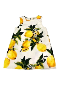 Doe a Dear Lemon-Print Shift Dress - Alternate List Image