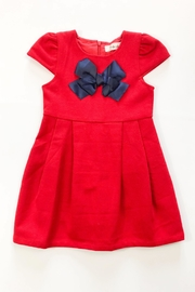 Doe a Dear Red Wool Dress - Product Mini Image
