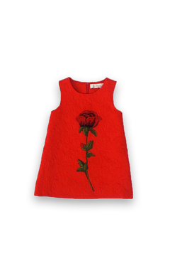 Doe a Dear Rose Embroidered Dress - Product List Image