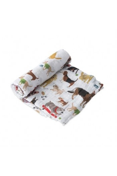 Little Unicorn Dog Cotton Swaddle - Alternate List Image