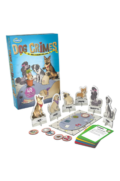 ThinkFun Dog Crimes: Who't To Blame Logic Game - Alternate List Image