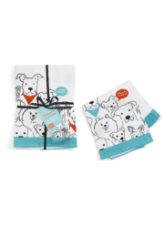 Two's Company Dog Dish Towel & Cookie Cutter - Product Mini Image