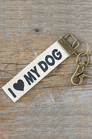 Natural Life Dog Key Fob - Product Mini Image