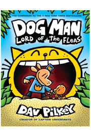 Scholastic Dog Man #5: Lord Of The Fleas - Product Mini Image