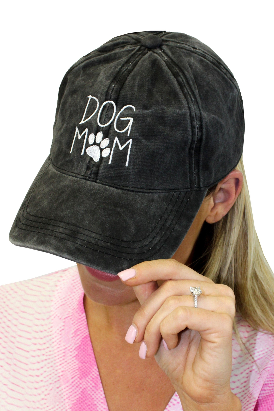David & Young Dog Mom Cap - Front Cropped Image