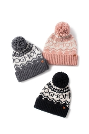 david and young Dog Mom Pom Beanie - Side cropped