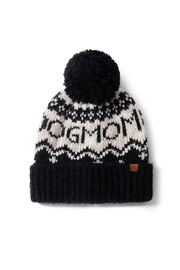 david and young Dog Mom Pom Beanie - Front full body