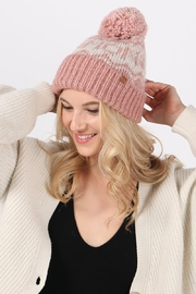 david and young Dog Mom Pom Beanie - Front cropped