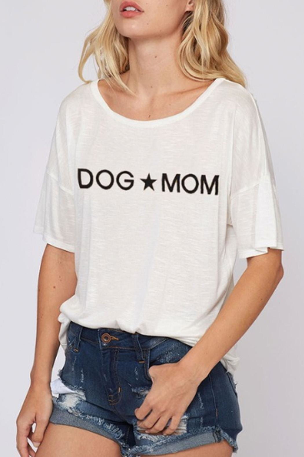 Wild Lilies Jewelry  Dog Mom Tee - Front Full Image