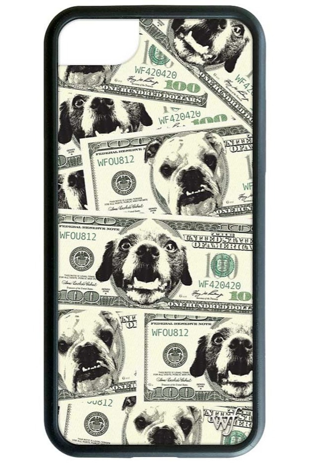 Wildflower Cases Dog Money iPhone 6/7/8 Case - Main Image