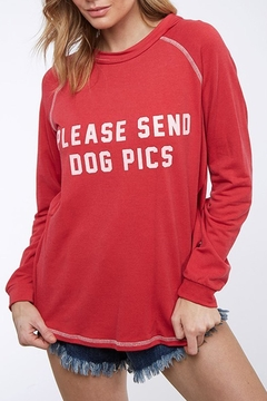 Shoptiques Product: Dog Pics Long-Sleeve