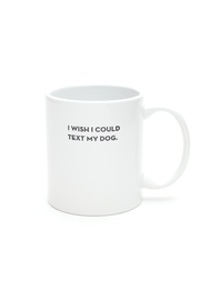 Sapling Press Dog Text Mug - Product Mini Image