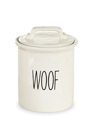 Mud Pie Dog Treat Canister - Product Mini Image