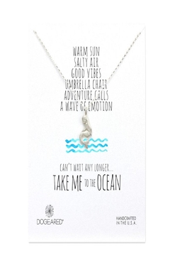 Dogeared Mermaid Ocean Necklace - Product List Image