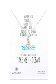 Dogeared Mermaid Ocean Necklace - Product Mini Image