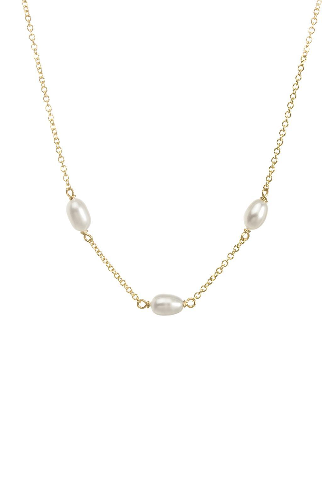 Dogeared Pearls Of Love Necklace - Main Image