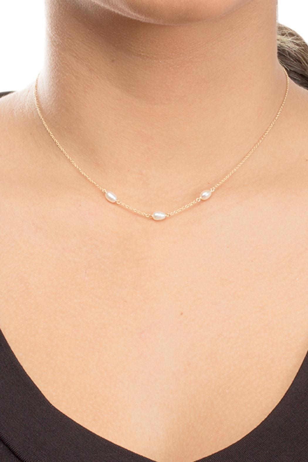 Dogeared Pearls Of Love Necklace - Side Cropped Image