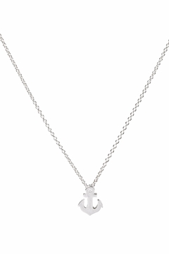Dogeared Sterling Silver Anchor Necklace - Product List Image