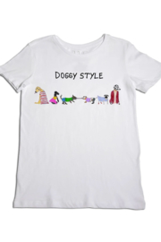 Unfortunate Portrait Doggy Style T-shirt - Front cropped