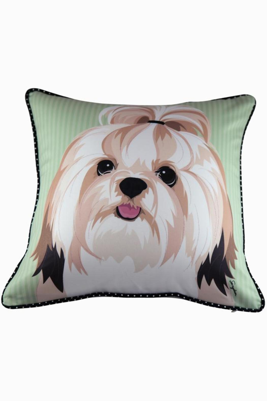Dogolove Shih Tzu Pillow From California By Dogo Love Shoptiques