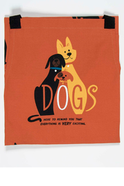 Blue Q Dogs apron - Front full body